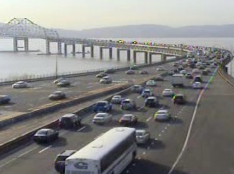 Contruction delays on Tappan Zee Bridge
